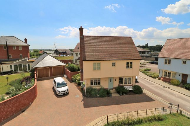 Thumbnail Detached house for sale in Walter Radcliffe Road, Wivenhoe, Colchester, Essex