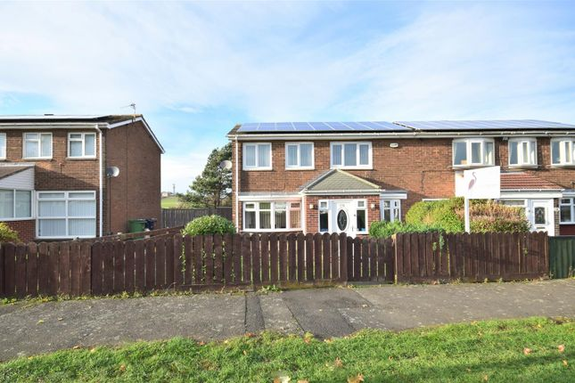 Thumbnail Semi-detached house for sale in Tadcaster Road, Thorney Close, Sunderland