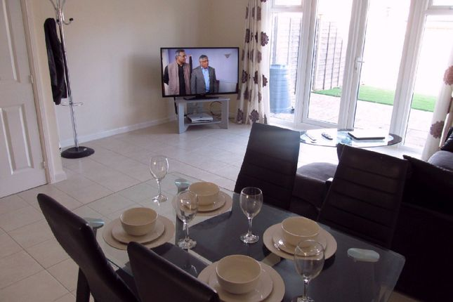 Thumbnail Semi-detached house to rent in Elk Path, Reading, South, Three Mile Cross, Green Park, M4