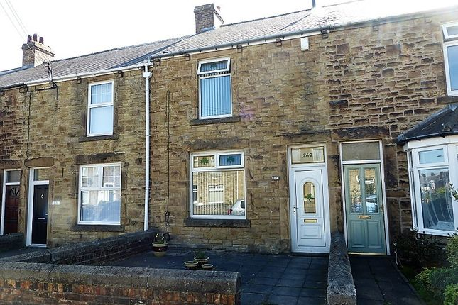 Thumbnail Terraced house to rent in Medomsley Road, Consett