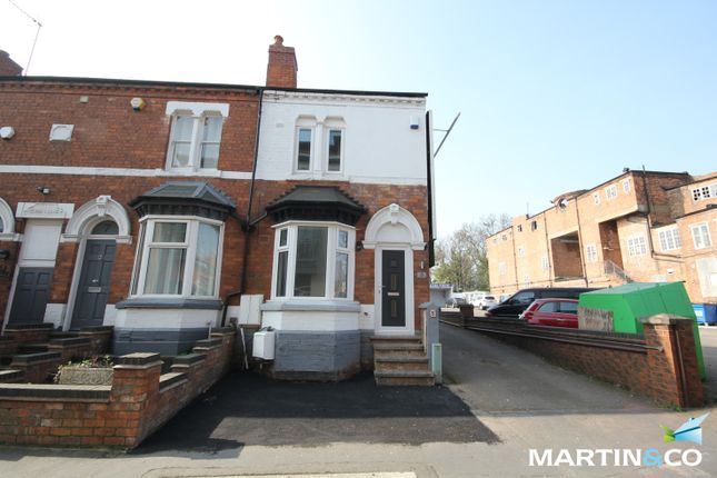 Thumbnail End terrace house to rent in Greenfield Road, Harborne