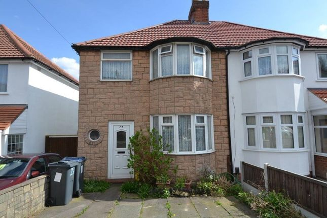 Thumbnail Semi-detached house to rent in Maas Road, Birmingham