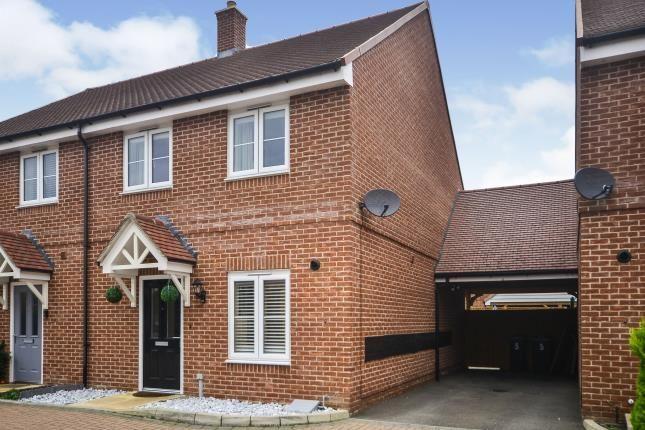 Thumbnail Semi-detached house for sale in Hadleigh Street, Kingsnorth, Ashford, Kent