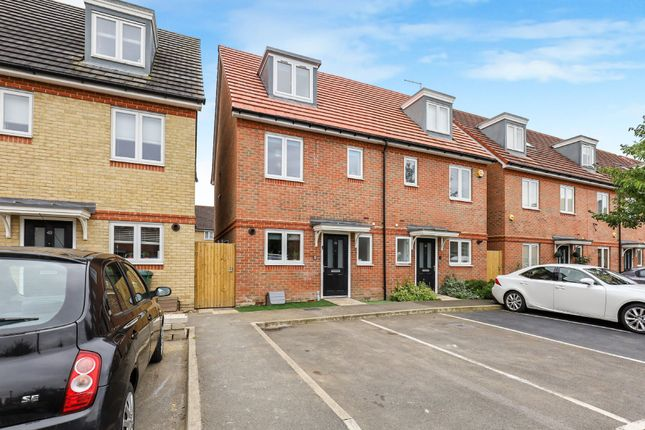 Thumbnail Semi-detached house for sale in Holywell Way, Stanwell, Staines-Upon-Thames