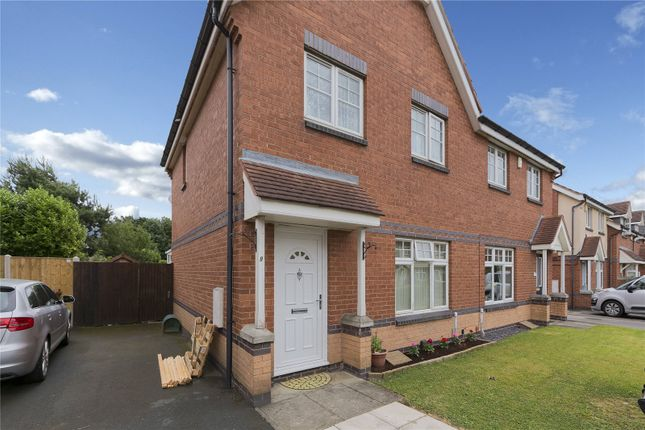 Thumbnail Semi-detached house for sale in Mclaren Fields, Leeds, West Yorkshire
