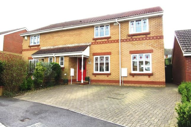 Thumbnail Semi-detached house for sale in Ramsons Way, Cardiff