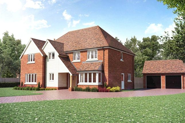 Thumbnail Detached house for sale in Bagshot Road, Chobham, Woking, Surrey
