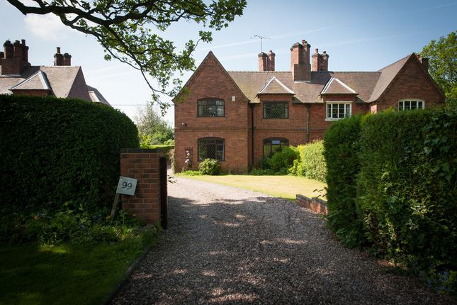 Thumbnail Semi-detached house for sale in Main Road, Baxterley, Atherstone