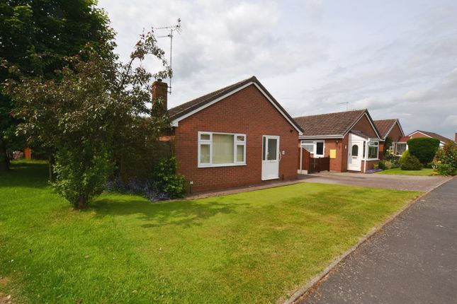 Thumbnail Detached bungalow for sale in Orchard Rise, Market Drayton