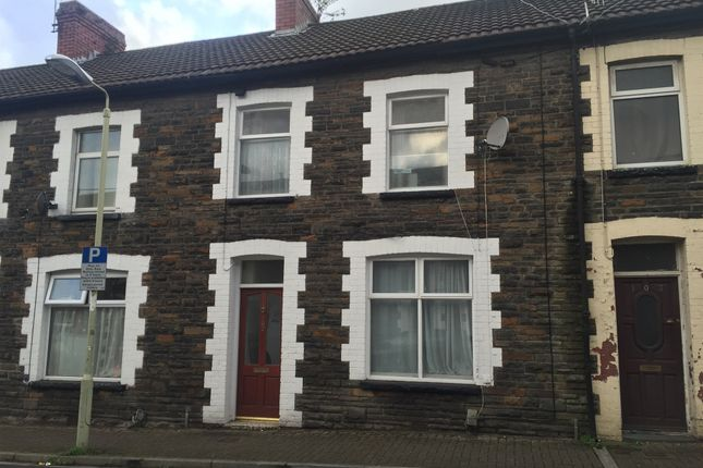 Thumbnail Terraced house for sale in Queen Street, Treforest, Pontypridd
