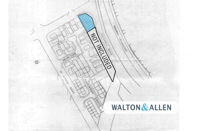 Site Plan of The Old Service Station, Hucknall Road, Nottingham NG5