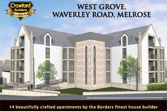 2 bed flat for sale in 2 Westgrove, Waverley Road, Melrose, Scottish Borders TD6