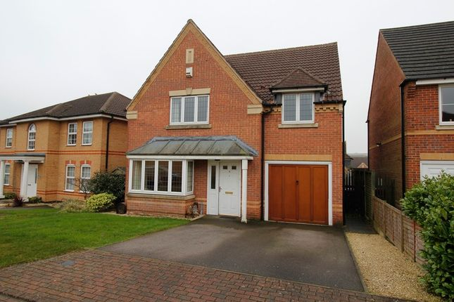 Thumbnail Detached house for sale in Aubretia Drive, Scunthorpe, Lincolnshire