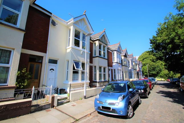 Thumbnail Terraced house to rent in Edgcumbe Avenue, Stoke, Plymouth