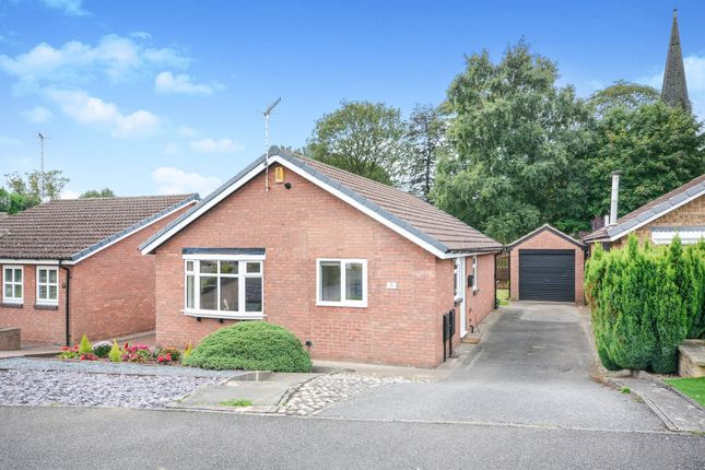 Thumbnail Detached bungalow for sale in Church Meadows, Calow, Chesterfield