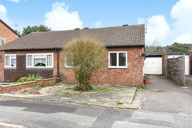 Thumbnail Semi-detached bungalow to rent in Merton Close, Owlsmoor, Sandhurst, Berkshire