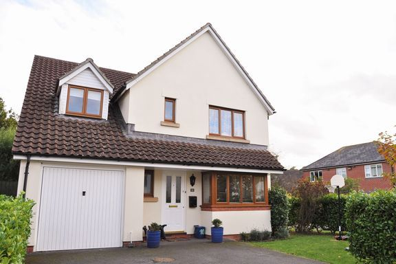 Thumbnail Detached house for sale in Buttercup Road, Willand, Cullompton