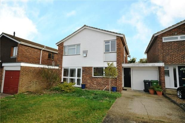 Thumbnail Link-detached house for sale in Windermere Avenue, Basingstoke, Hampshire