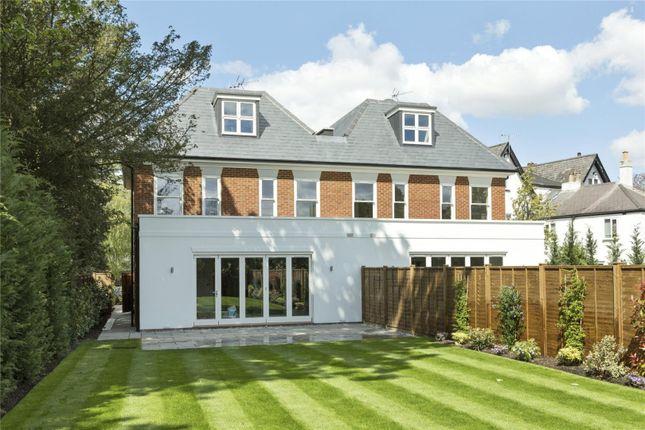 Thumbnail Semi-detached house for sale in Oatlands Drive, Weybridge, Surrey