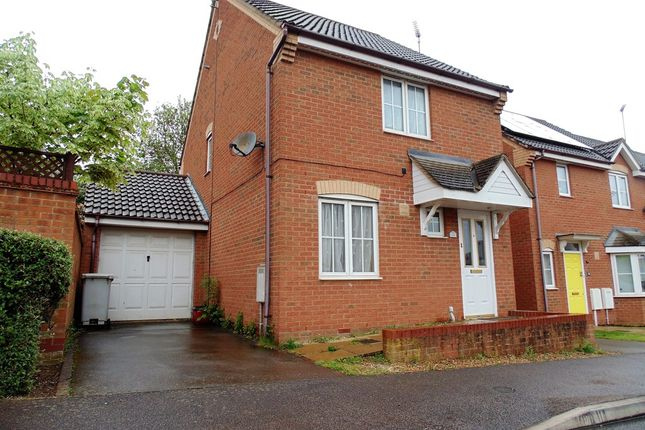 Thumbnail Link-detached house for sale in Tailby Avenue, Kettering