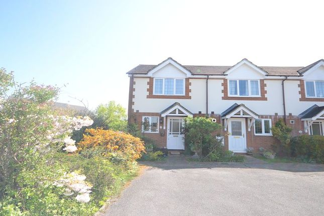 Thumbnail End terrace house to rent in Peel Close, Woodley, Reading
