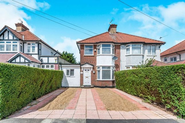 Thumbnail Semi-detached house for sale in Portman Gardens, London