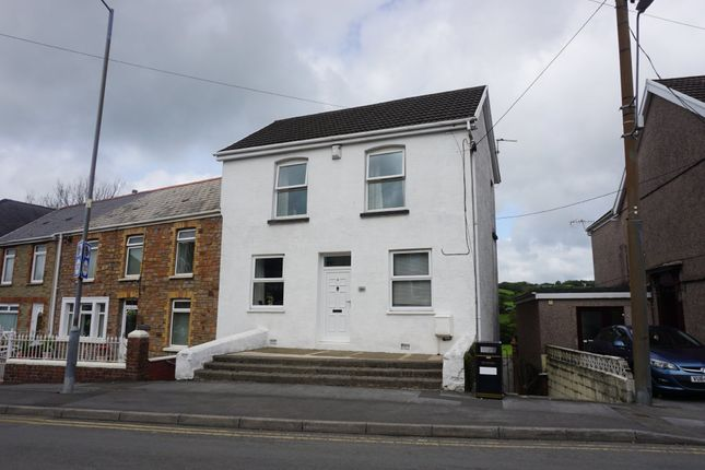 End terrace house for sale in Heol Y Parc, Pontyberem, Llanelli