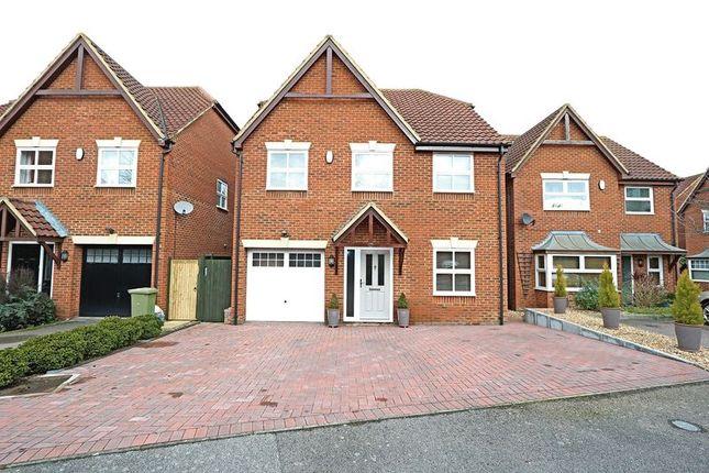 Thumbnail Detached house for sale in Welbeck Close, Monkston, Milton Keynes