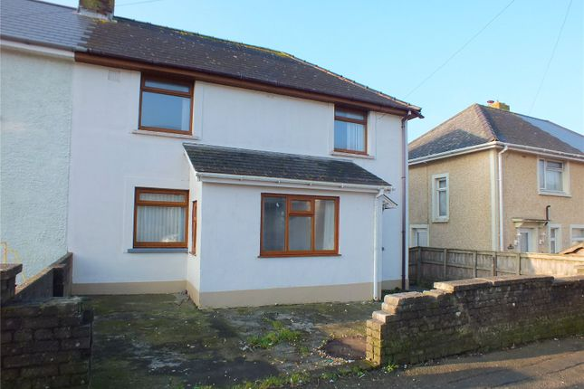 Thumbnail Semi-detached house to rent in Cromwell Road, Milford Haven, Sir Benfro