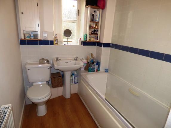 Bathroom of Pike Close, Hayfield, High Peak, Derbyshire SK22