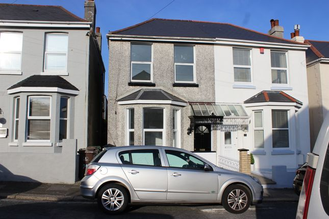 Thumbnail Terraced house for sale in Cedarcroft Road, Plymouth