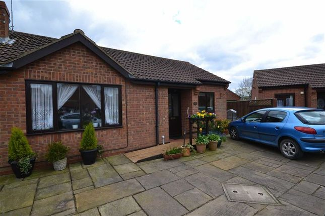 Thumbnail Semi-detached bungalow to rent in Aldermans Way, Brandesburton, East Yorkshire