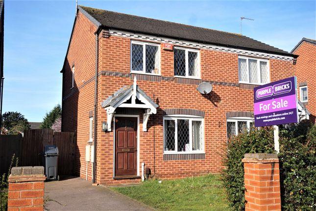 Thumbnail Semi-detached house for sale in Burcote Road, Pype Hayes, Birmingham