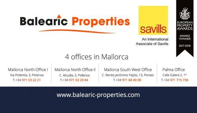 Balearic And Savills Logo