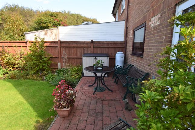 Patio Area of Hodcombe Close, Eastbourne BN24