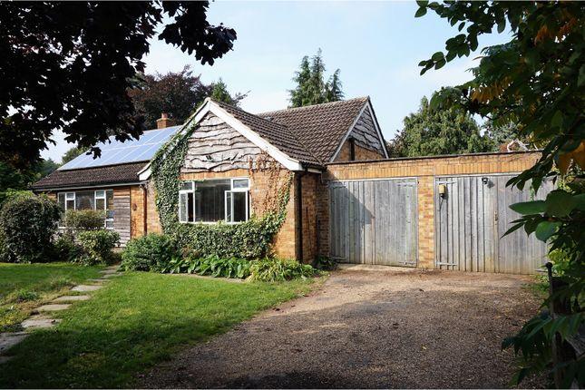 Thumbnail Detached bungalow for sale in Bar Lane, Cambridge
