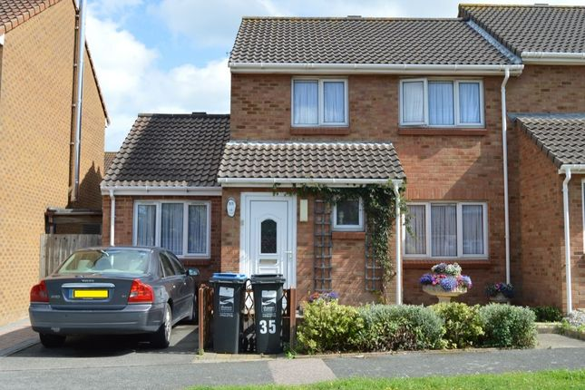 Thumbnail Semi-detached house for sale in Crundale Way, Cliftonville, Margate