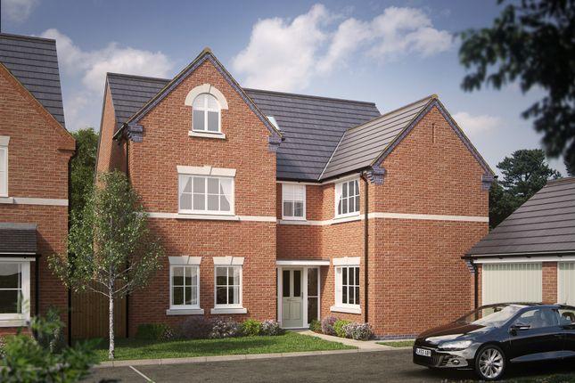 Thumbnail Detached house for sale in The Kedlington, Off Magdalene Drive, Mickleover, Derby