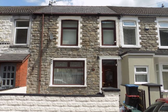 Thumbnail Terraced house for sale in Carlyle Street, Abertillery
