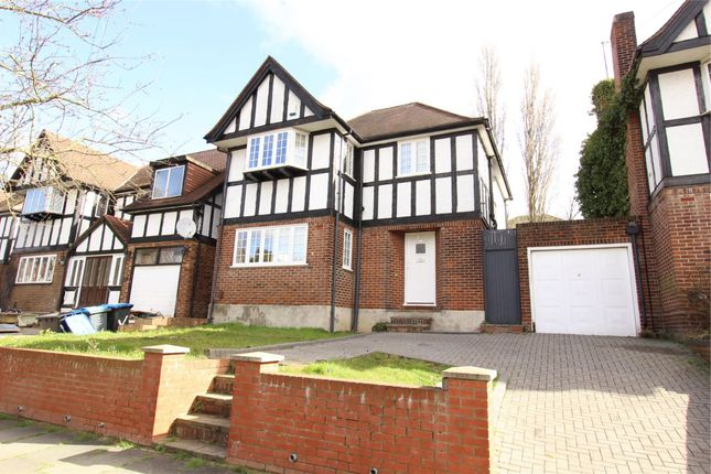 Thumbnail Detached house for sale in Barn Way, Wembley, Greater London