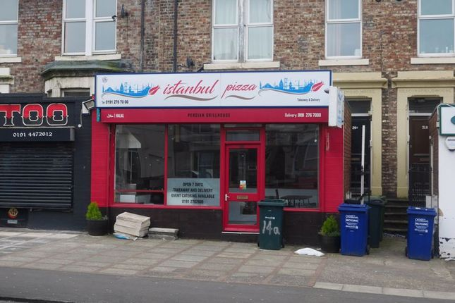 Thumbnail Restaurant/cafe for sale in Heaton Road, Heaton, Newcastle Upon Tyne