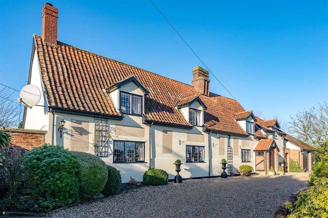 Thumbnail Detached house for sale in Dux Street, Brettenham, Ipswich, Suffolk