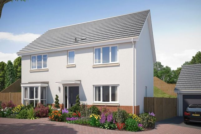 Thumbnail Detached house for sale in The Ribsden Saxon Way, Kingsteignton, Newton Abbot