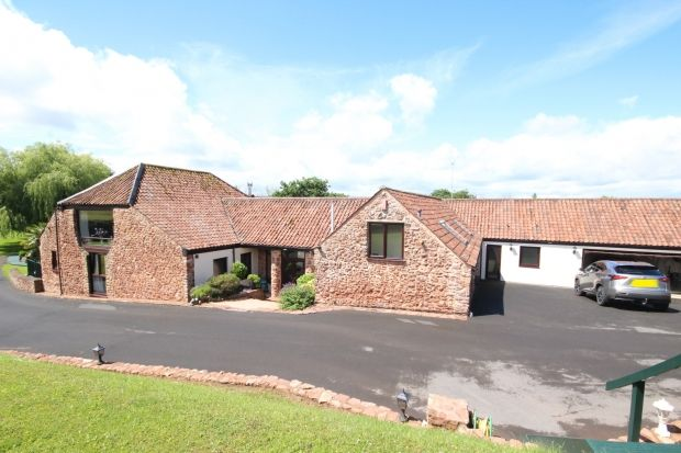 Thumbnail Barn conversion for sale in Sandford Hill, Wembdon, Bridgwater