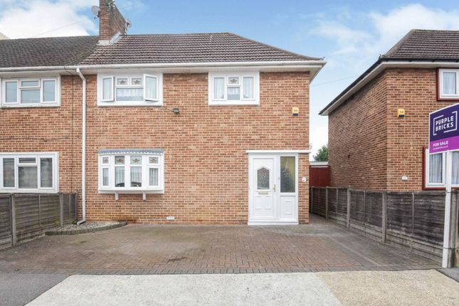 2 bed end terrace house for sale in Chaucer Road, Romford RM3