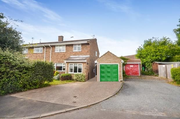 Thumbnail Semi-detached house for sale in Dolphin Close, Linton, Cambridge
