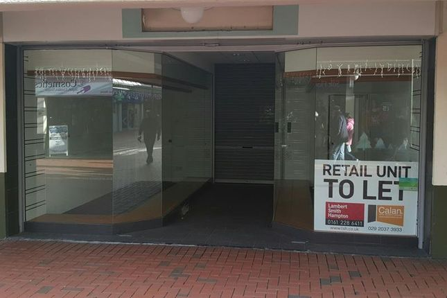 Thumbnail Retail premises to let in 14 New Market Walk, Merthyr Tydfil