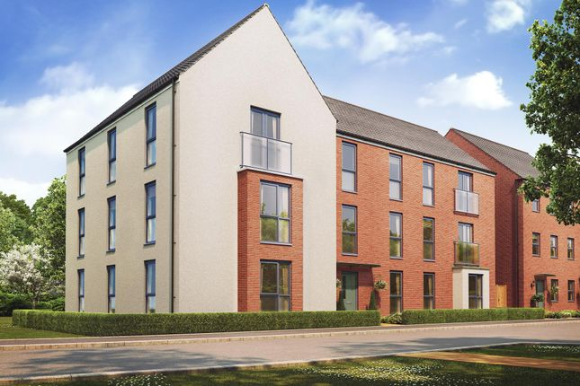 "Thumbnail Flat for sale in ""Hudson"" at Fen Street, Wavendon, Milton Keynes"