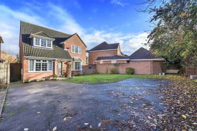 Thumbnail Detached house for sale in Fallow Road, Shawbirch, Telford, Shropshire