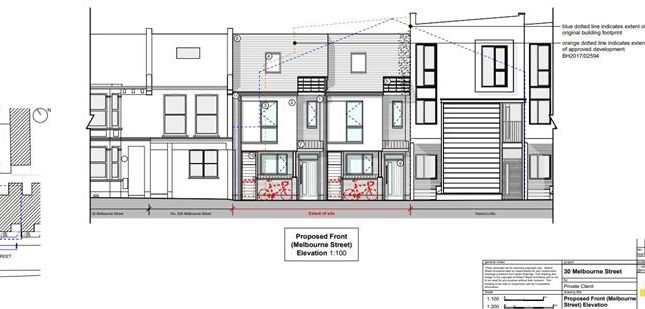 Thumbnail Land for sale in 32A Melbourne Street, Brighton, East Sussex